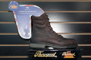 Thorogood: 804-4203 6in American Heritage Safety Toe