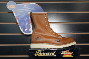 Thorogood: 814-4364 8in Plain Toe Non-Safety Boot