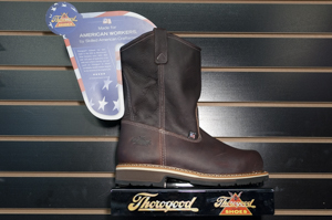 Thorogood: 10in Wellington Pull-On Dual Comfort Outsole