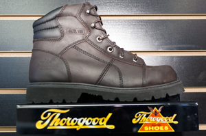 Thorogood: Unisex 804-4650 Brown 6 Inch EH Safety Toe